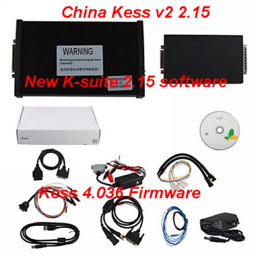 Supplier China Kess v2 2.15 Master Kess 4.036 Firmware K-suite 2.15 Kess